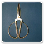 Bonsai Tool Silver Shears